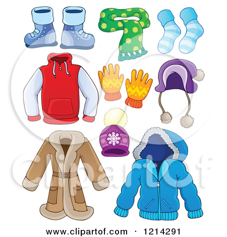 Fall Clothes Clipart.