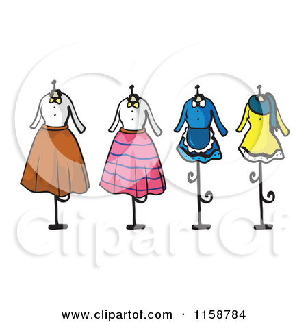Outfits clipart.