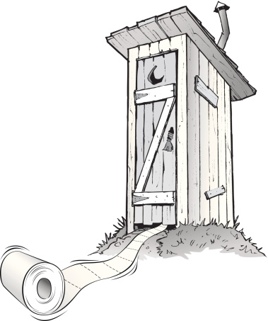 Outhouse Clipart, Outhouse Free Clipart.
