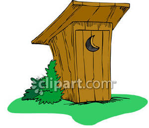 Outhouse Clipart #115.