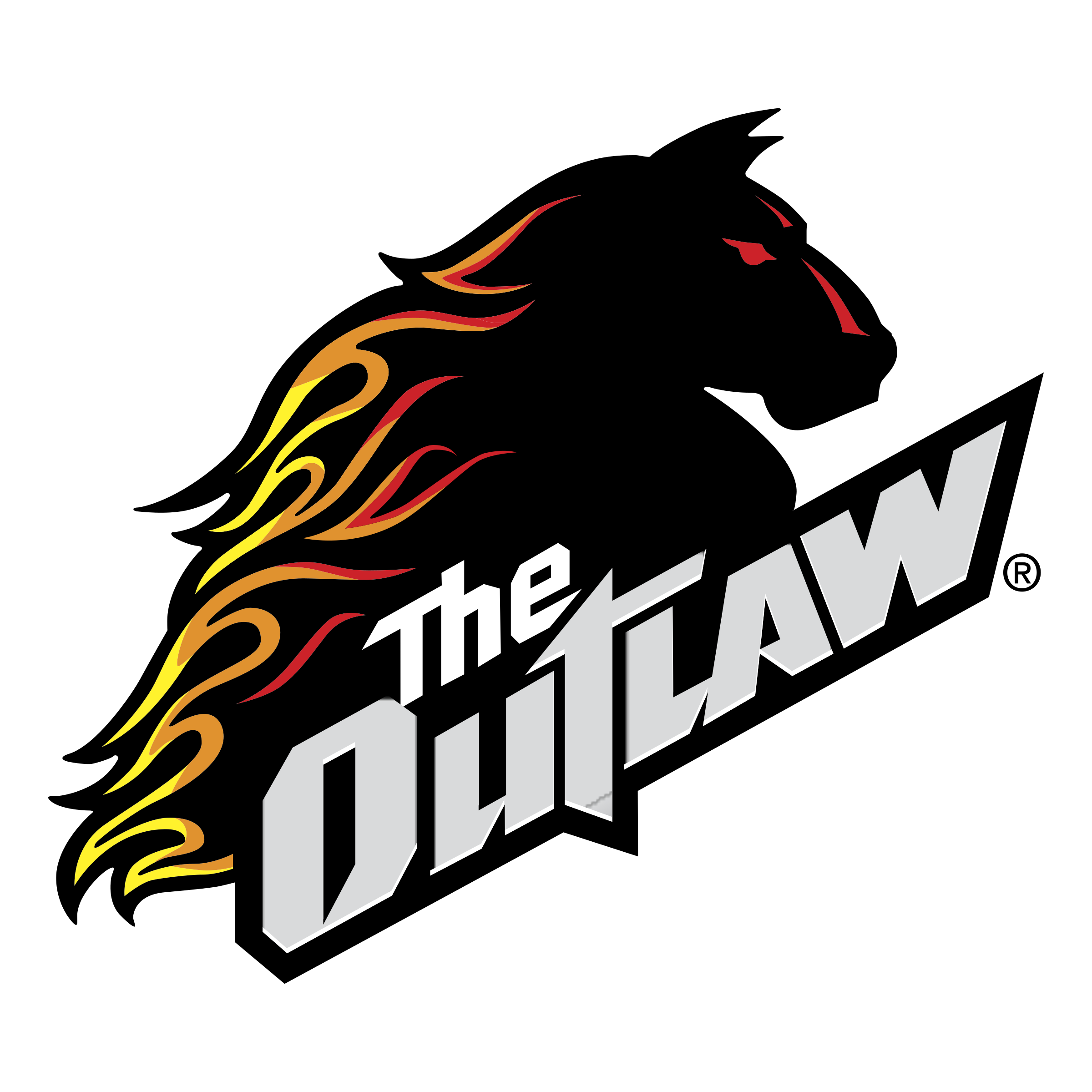 The Outlaw Logo PNG Transparent & SVG Vector.