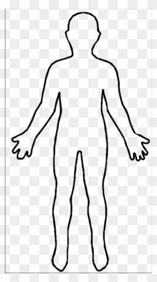 Free PNG Body Outline Clip Art Download.