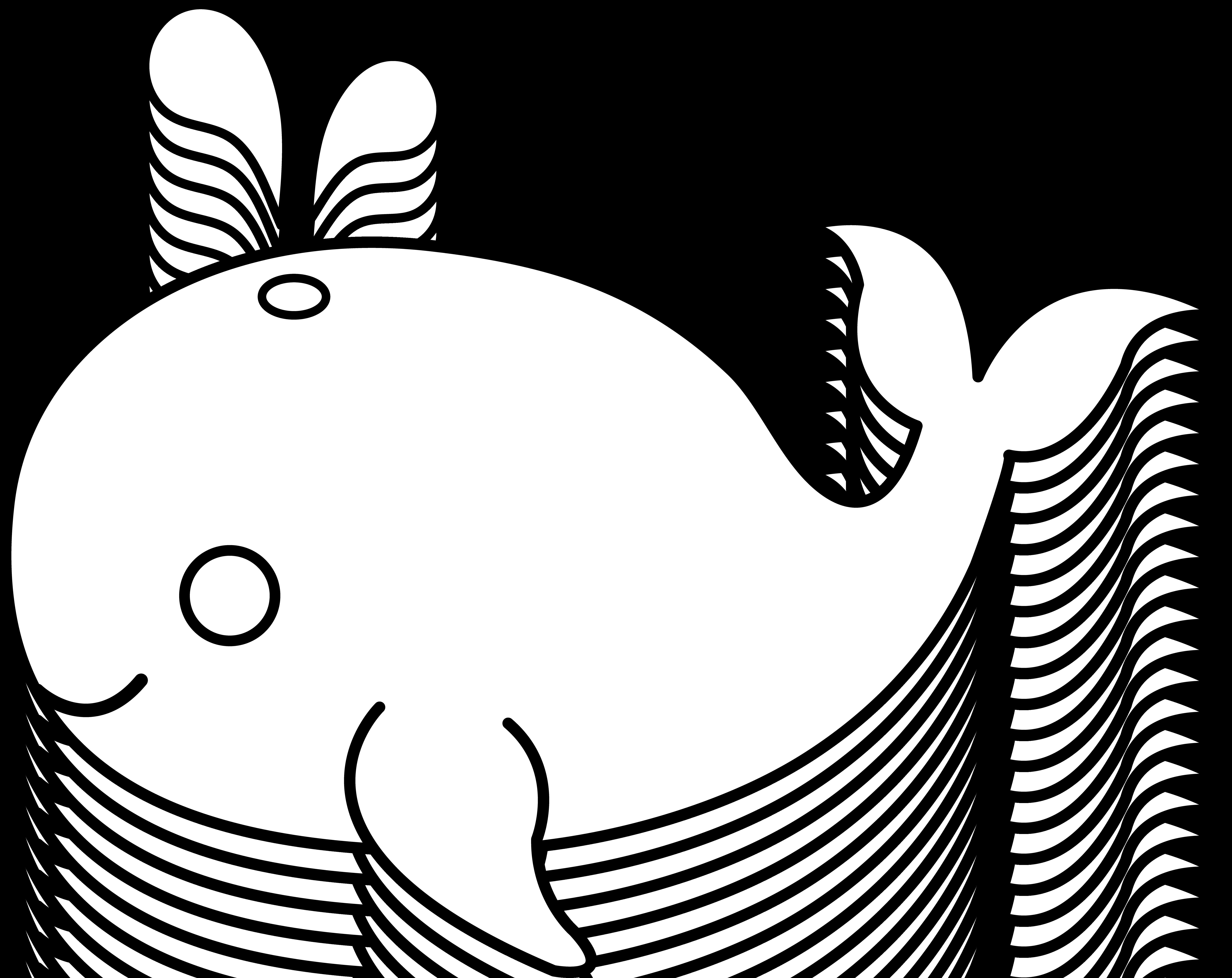 Simple Fish Outline Clip Art Clipart info.