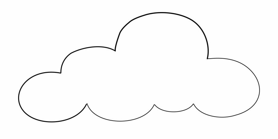 Cloud Outline Png.