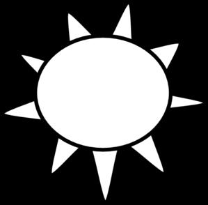 Sun Outline Clip Art at Clker.com.