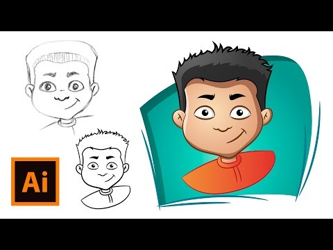 How to Draw a Cartoon Face.