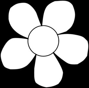 Sunflower Clipart Black And White Border.