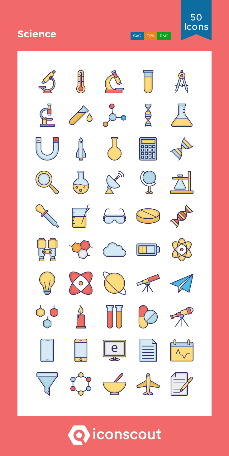 Science Icon Pack.