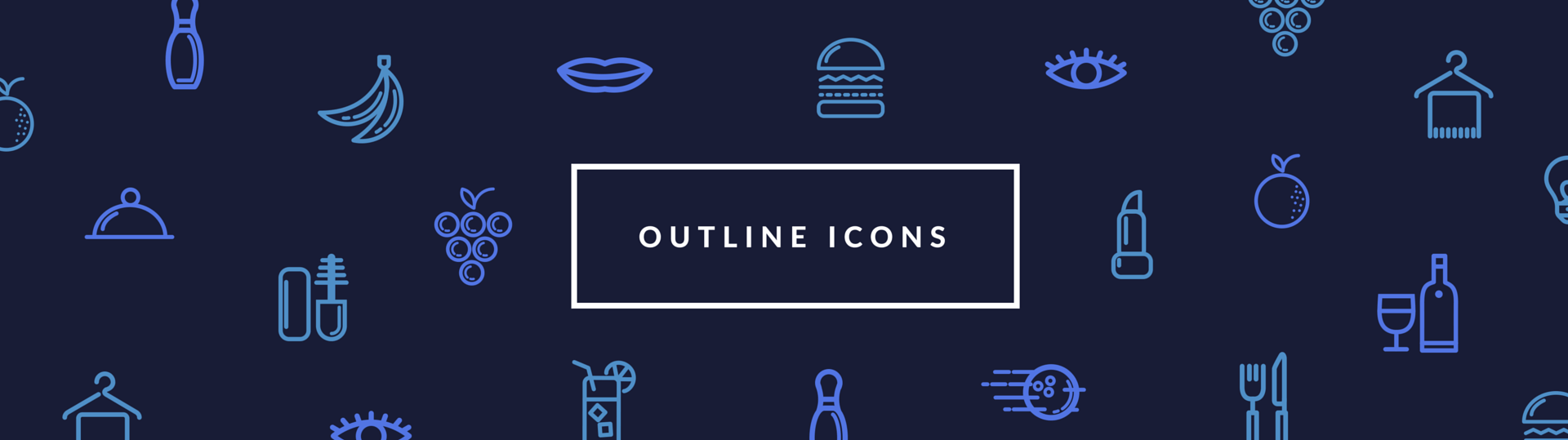 60 free outline icon sets perfect for contemporary designs.