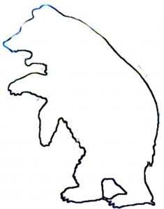 Bear Outline.