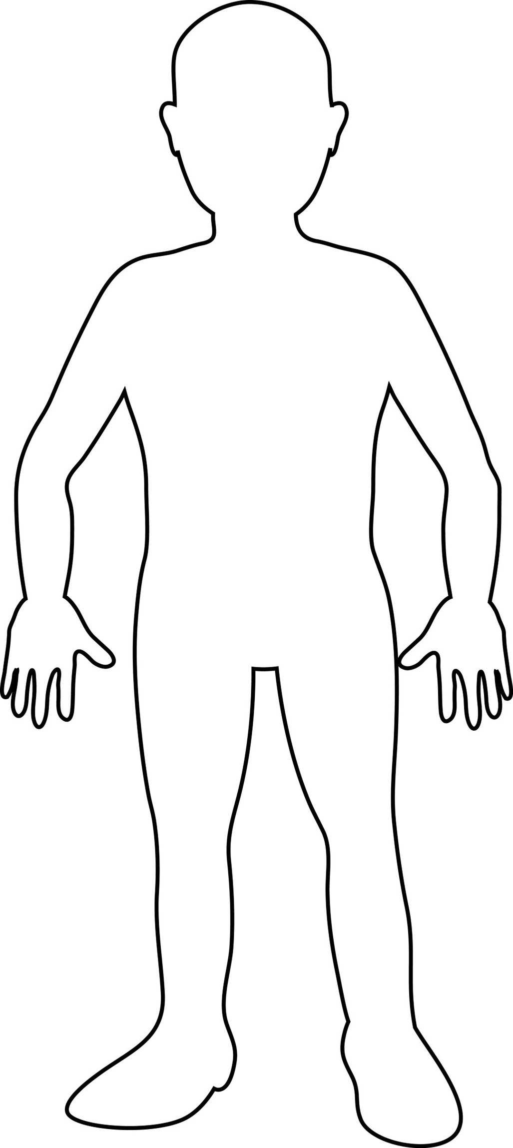 Free Body Outline Cliparts, Download Free Clip Art, Free.