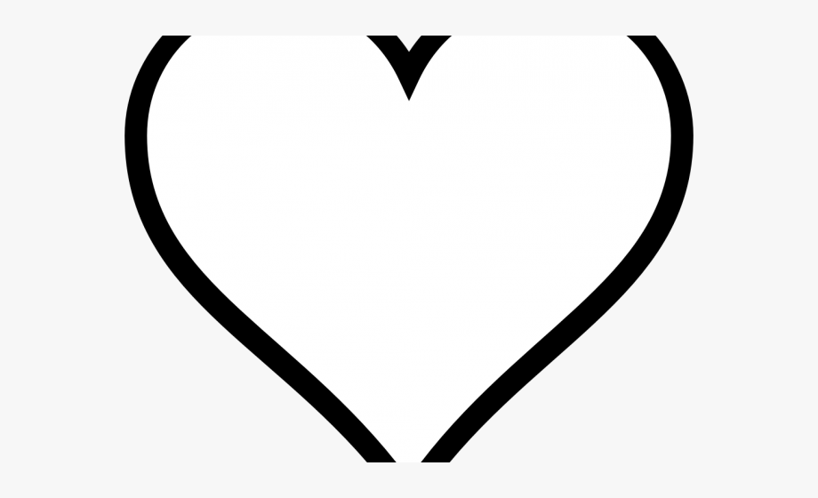 Heart Clipart Clipart Heart Outline.