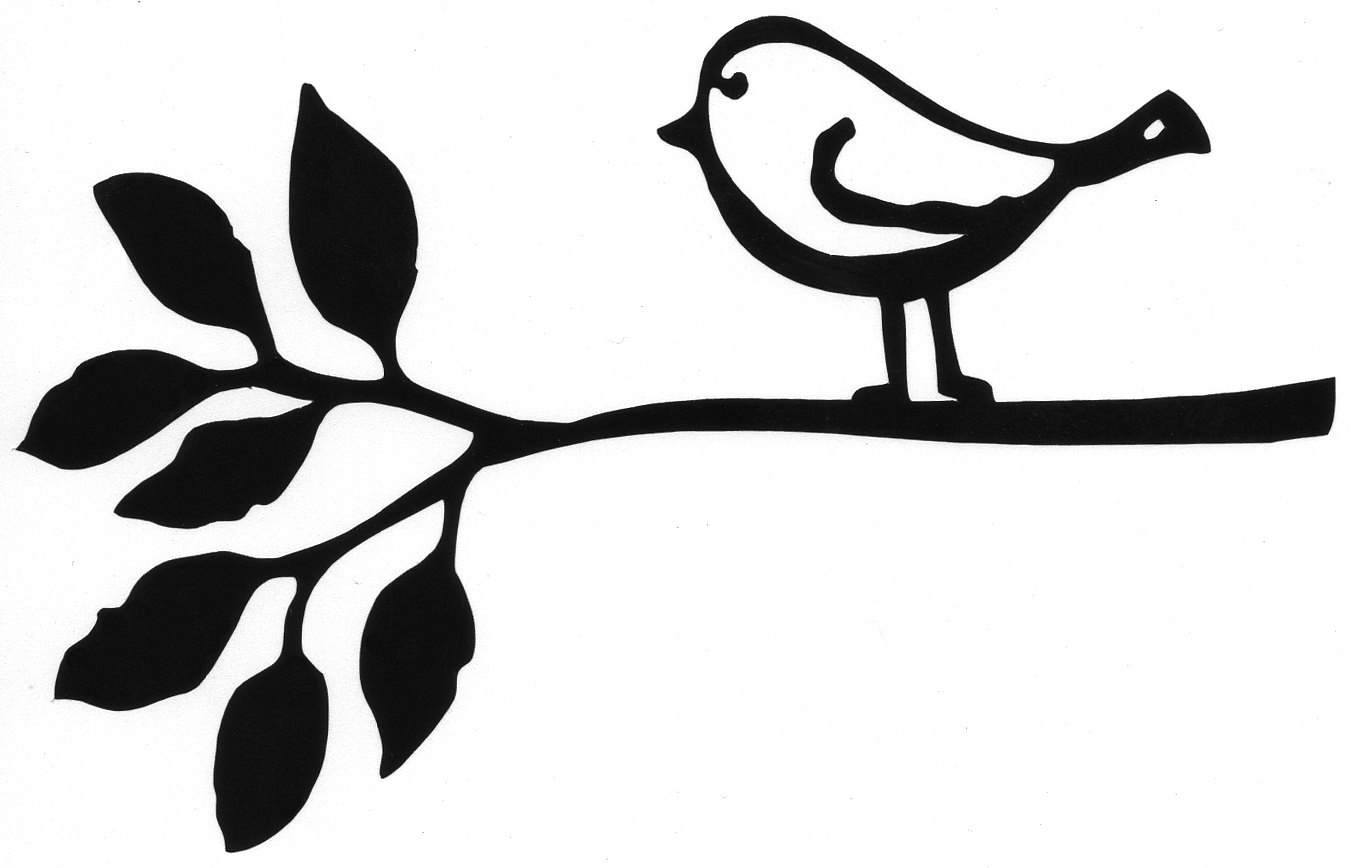 outline of birds clipart Clipground