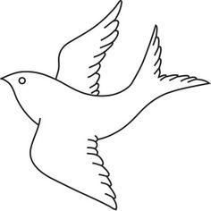 clip art birds outline.