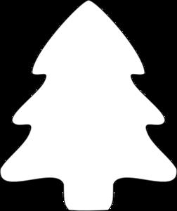 Christmas Tree Outline Clip Art & Christmas Tree Outline Clip Art.