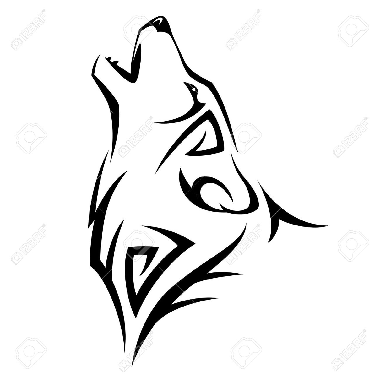 900+ Best Tribal wolf tattoos for Men and Women Updated Daily.