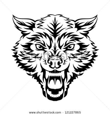 Fierce Dog Stock Images, Royalty.