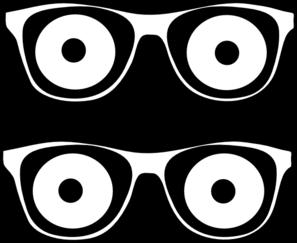 Outline Glassees Eyes Clip Art at Clker.com.