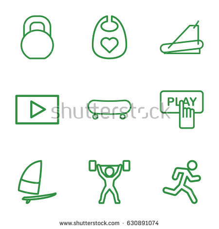 Strong Man Outline Stock Images, Royalty.
