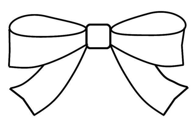 Ribbon Outline.