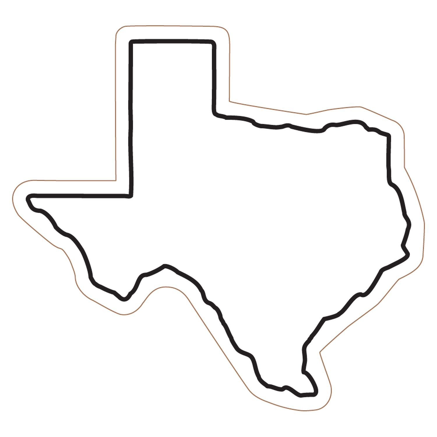 Outline Of Texas.