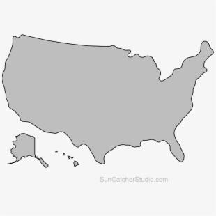 United States Outline, State Outline, Flying Pig, Pallet.