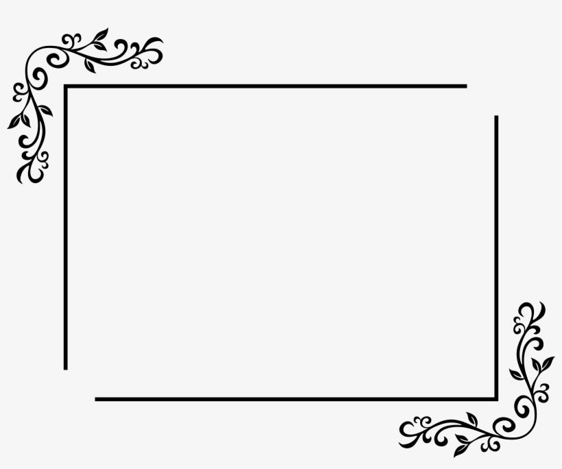 Free Black Outline Rectangle Png.