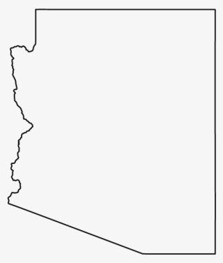 Arizona Outline PNG, Transparent Arizona Outline PNG Image.