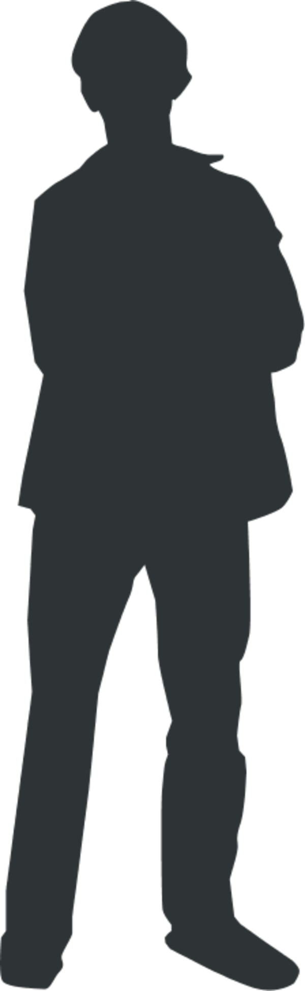 People shadow clipart small.