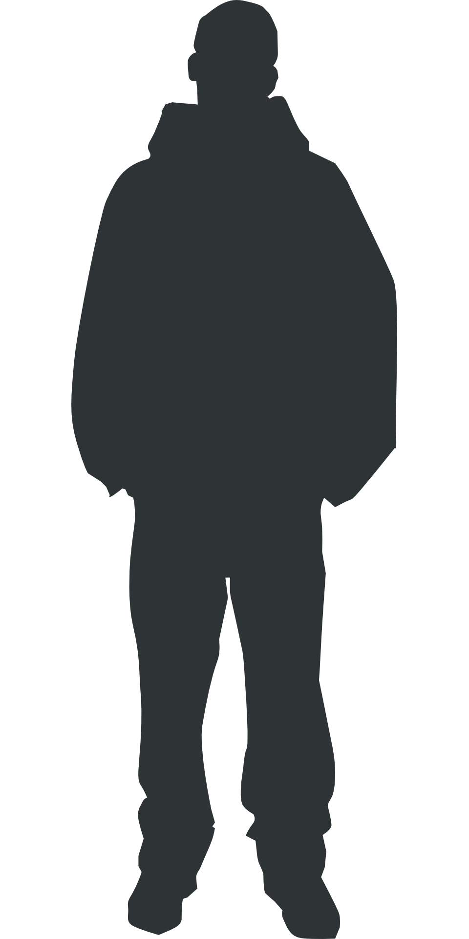 Person Outline Clipart Silhouette.