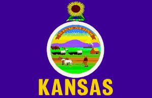 Flag Of Kansas Clip Art at Clker.com.
