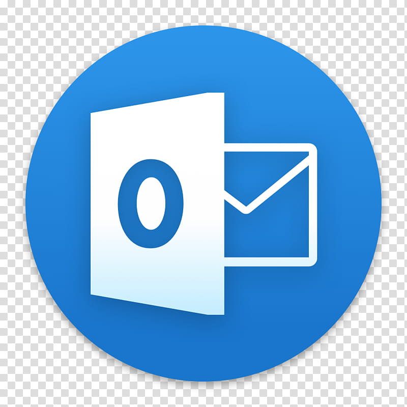 Clay OS A macOS Icon, Microsoft Outlook, white message icon.