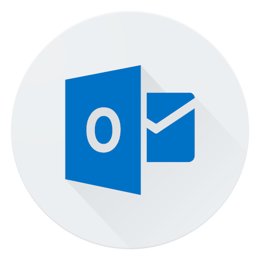 Communication email logo mail message outlook icon.