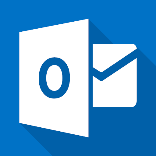 Mail microsoft outlook icon.
