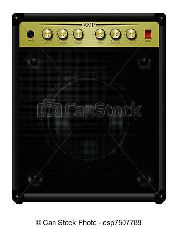 Stock Illustration of Amplifier Eleven.
