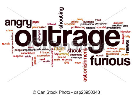 Outrage clipart #10