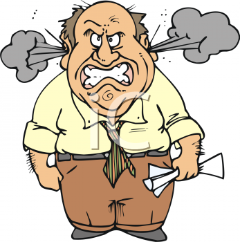 Anger Clipart.