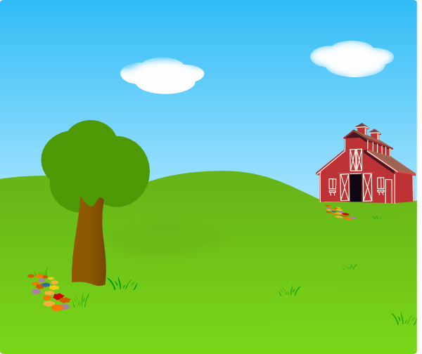Outside Background Clipart.