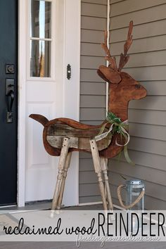 free Patterns for Outside Decorations.