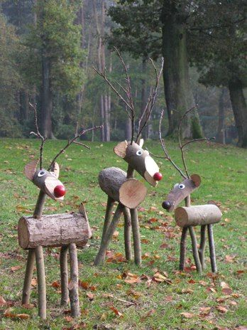 17 Best images about Log deer on Pinterest.