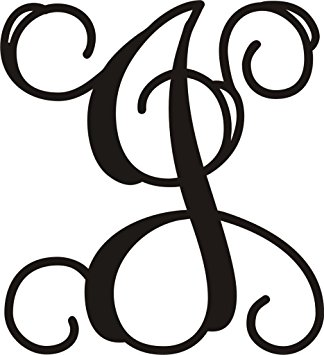 "Amazon.com: Monogram Approximately 20""T X 18""W Letter Door or Wall."