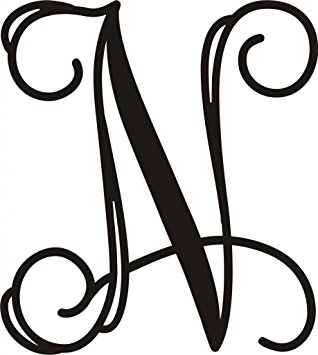 "Amazon.com: Monogram Letter Metal Approximately 20""t X 18""w Door."