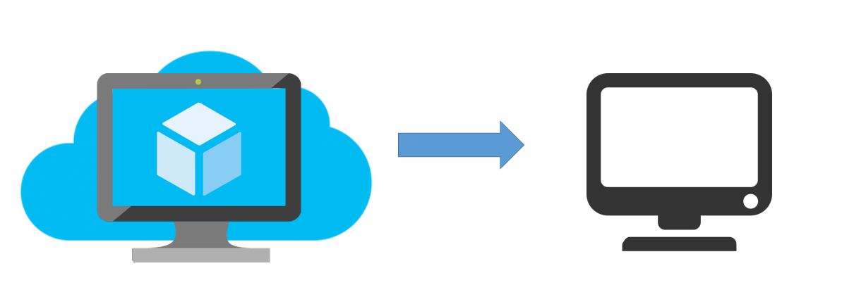 Access Azure Virtual Machine Applications Outside of Network.