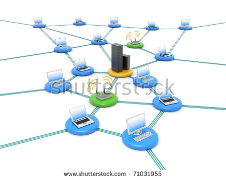Wireless Network Stock Photos, Royalty.