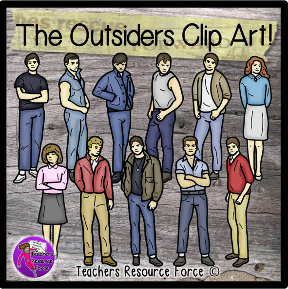 Outsiders Clip Art.