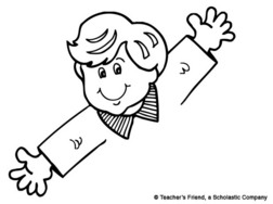 Clipart arms outstretched.