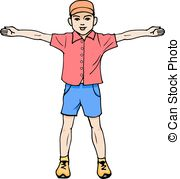 Arms outstretched Stock Illustration Images. 870 Arms outstretched.
