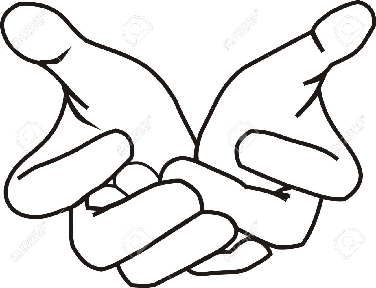 Image result for outstretched hand drawing in 2019.
