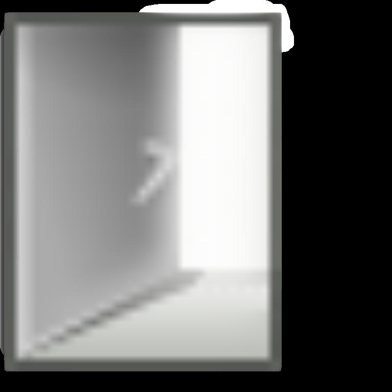 Free Clipart: Ouvrir une porte.