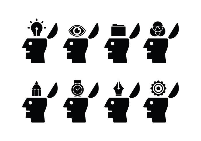 ouvrir les icônes de l\'esprit.